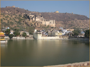 Bundi - Lake - Palace and Fort